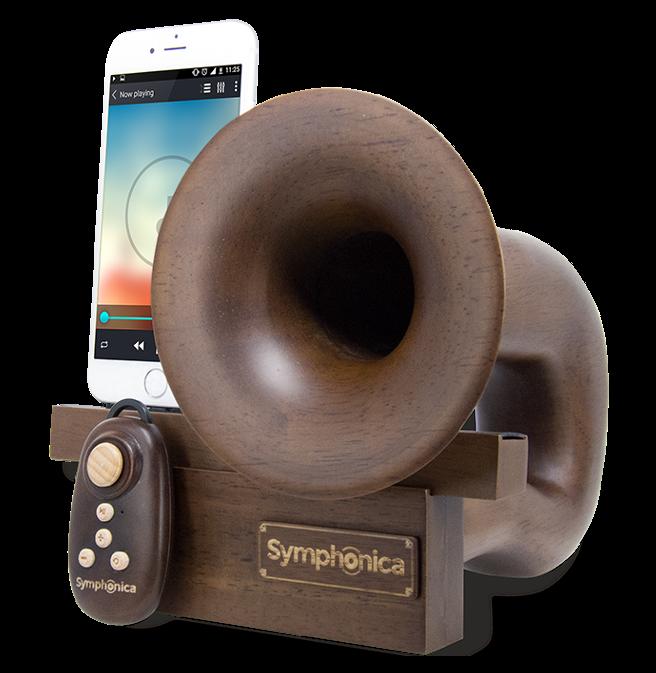 Symphonica Dark Stain Speaker